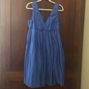 Royal/periwinkle gap dress